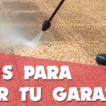 Trucos para limpiar tu garaje de forma rápida