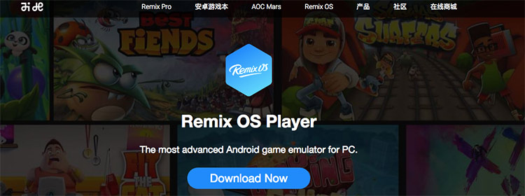 Emulador Remix OS Player