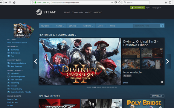 Truco para subir el nivel en Steam